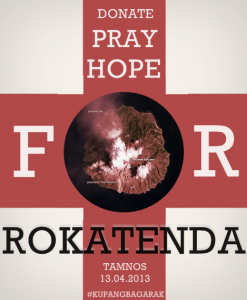 Rokatenda artwork by Rara W (@jamduapagi)